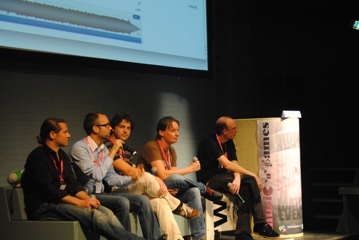 The Score It! Panel at Music 'n' Games
