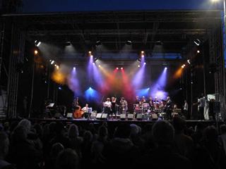 The JazzFocus Big Band at the Uitmarkt (2009)