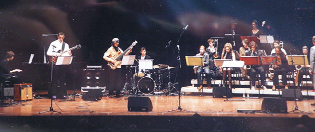 The JazzFocus Big Band at the 2008 PCC